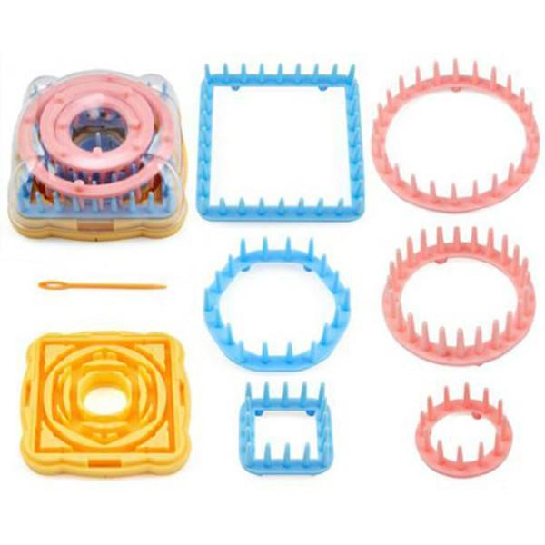7 piece Loom Knitting and Decorative Flower Kit