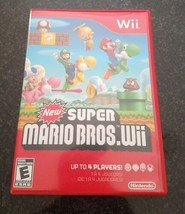 New Super Mario Bros. Wii (Nintendo Wii, 2009) - $16.64