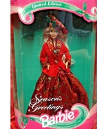 Mattel Barbie Doll Seasons Greetings 1994 NRFB #12384 - $39.60
