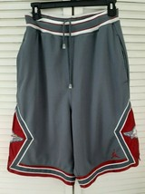 Nike, Air Jordan, Men's, Gray,Red,White, Size Small, Athletic Basketball... - $34.64