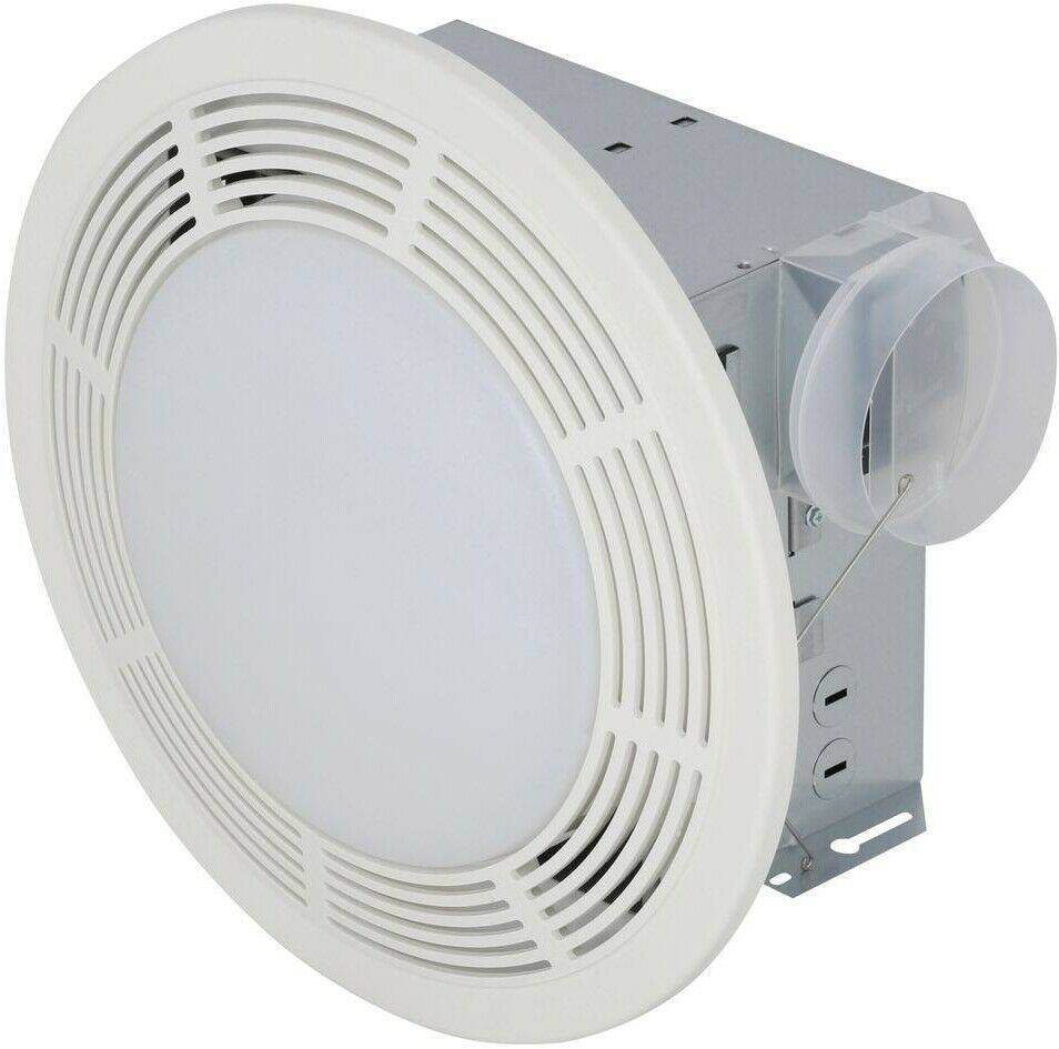 Nutone Bathroom Exhaust Fan With Light 100 Cfm Ceiling