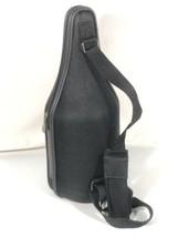 Caddy O Wine Bottle Carrier Tote Black Shoulder Strap w Wine Opener Made... - $29.69