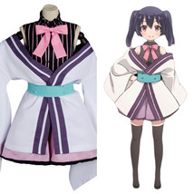 Urara Meirochou Tatsumi Kon Dress Halloween Cosplay Costume Suit Uniform Outfit - $60.76+