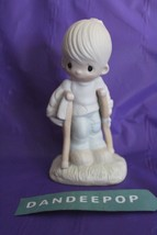 Precious Moments Enesco Jonathan And David He Watches Over Us All 1979 Figure - $19.79