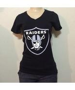 Women Raiders V-Neck T- Shirt / Oakland Football NFL  - $15.99 - $17.99