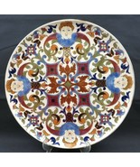 Rudolf Ditmar Znaim 1900 Austrian Majolica XL Platter 4 angels face - $280.00