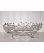 "FOSTORIA AMERICAN 3-FOOTED BOWL BON BON 6-3/4"" - $24.00"