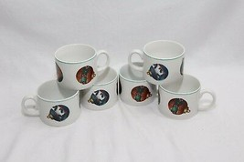 Atico Yuletide Traditions Xmas Ornaments Cups Lot of 6 - $48.99
