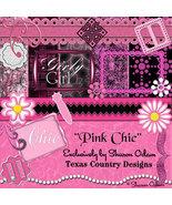 Pink Chic Digital Scrapbooking Kit - $4.00