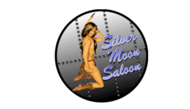 Made In United States Silver Moon Saloon Rivets Nose Art Decal 6''   - $19.79