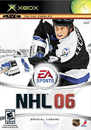 NHL 06 Xbox, 2005 Hockey Video Game, (Everyone 10+) FREE SHIPPING U.S.A.