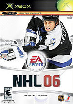 NHL 06 Xbox, 2005 Hockey Video Game, (Everyone 10+) FREE SHIPPING U.S.A. - $8.17