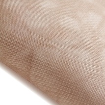 Iced Coffee Hand-Dyed Effect 40ct Linen 35x39 cross stitch fabric Fabric Flair - $81.54