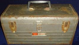 Vintage•1970•Craftsman•Model 6500•Metal•Toolbox•NO Tool Tray•18x8x9•Preo... - $29.99