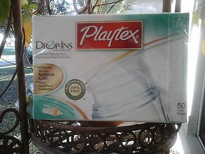 Playtex Disposable Feeding Bottle Liners 50  - 4 Oz Drop in  - $9.89