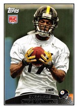 2009 Topps #348 Mike Wallace RC Rookie Card > Pittsburgh Steelers - $0.99