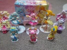 Lot of 13 Hugtto Pretty Cure Precure Figure Doll set Used - $138.99