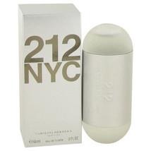 212 by Carolina Herrera 2 oz / 60 ml EDT Spray  Perfume for Women New in Box - $54.27