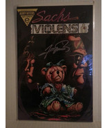 SACHS AND VIOLENS #3 SIGNED BY GEORGE PEREZ- FREE SHIPPING - $18.70