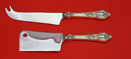 Eloquence By Lunt Sterling Silver Cheese Server Serving Set 2PC Hhws Custom Made - $139.00