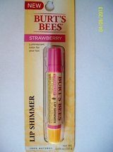 Burt's Bees 100% Natural Lip Shimmer, Strawberry .09 Oz. - $15.79