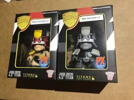 Judge Dredd Vinimate Minimate Titan Figures Cursed Earth Robot Wars - $14.84