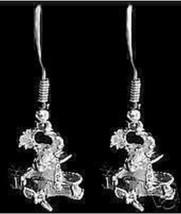 NICE Moose in Airplane Sterling silver Earrings Jewelry - $623,56 MXN