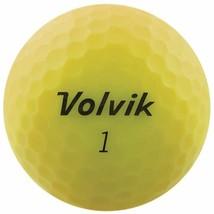 Volvik 2020 Vivid 3 Pc Golf Balls Matte Yellow - $36.17