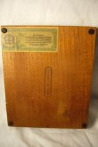 Lehigh Valley RR Made In Jamaica Wood Cigar Box image 4