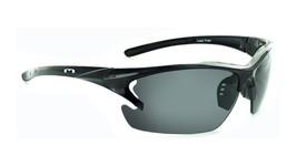 Optic nerve Laser - Smoked Lens Ergonomic Cycle / Moto Sunglasses - $31.59