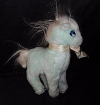 "9"" Vintage Ace Novelty Mint Green White Baby Horse Pony Stuffed Animal Plush Toy - $23.38"