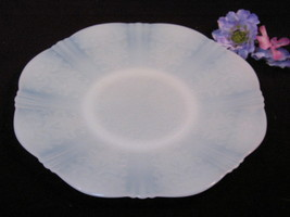 American Sweetheart Monax Salver Cake Plate Depression MacBeth Evans Glass - $51.99