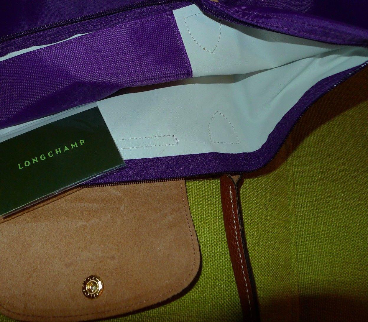 Longchamp Le Pliage Large Nylon Tote amethyst