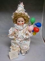Marie Osmond, Courtnie Clown Baby Doll, W/Tag Stand - $22.49