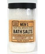 Dead Sea Collection 34.2 Oz Men's Relaxing Coconut Oil Muscle Soak Bath ... - $16.99