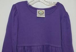Blanks Boutique Long Sleeve Empire Waist Purple Ruffle Dress Size 5T image 2