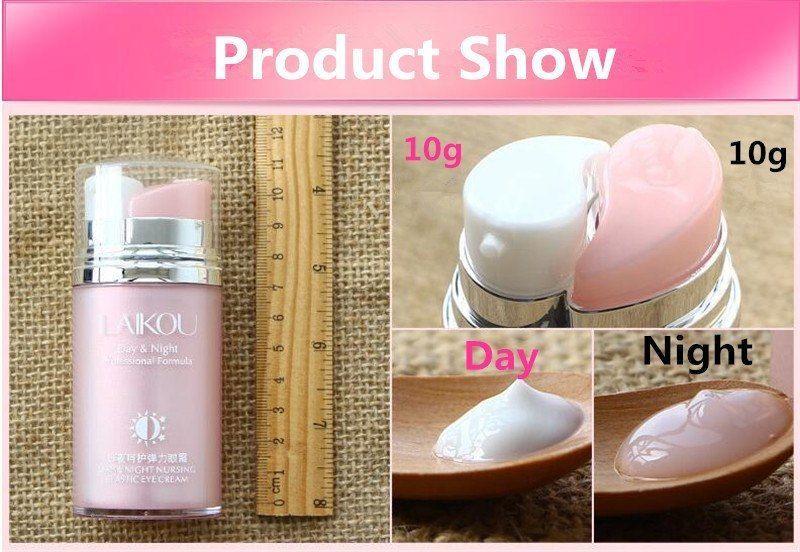 Day & Night Elastic Eye Cream Skin Care Facial Anti Puffiness Face Dark Circles image 6