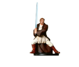 GENERAL KENOBI 12 Wizards of the Coast STAR WARS Miniature - $3.49