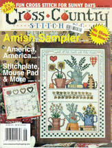 Cross Country Stitching Magazine Oct. 2002 Amish Sampler, Mouse Pad, Calendar - $12.50