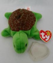 TY Beanie Babies Speedy Turtle PVC PELLETS Style # RARE ERRORS Retired - $39.99