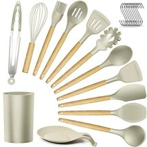 Silicone Kitchen Utensils Cooking Utensil Set - Cooking Utensils Tools w... - $37.84 CAD