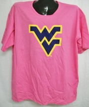 West Virginia Mountaineers Pink Scoop Neck Tee Shirt XXXL - $14.73