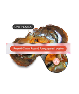 Rose OYSTER PEARL  INDIVIDUALLY WRAPPED AAA+++  20 PCS New arrival - $55.74