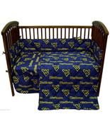 West Virginia Mountaineers Baby Crib Set 5 Piece - $102.90
