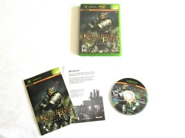 Kingdom Under Fire: The Crusaders (Microsoft Xbox, 2004) Complete w/ Manual - $5.99
