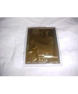 23 KARAT GOLD DANBURY MINT BABE RUTH - FREE SHIPPING - $22.99