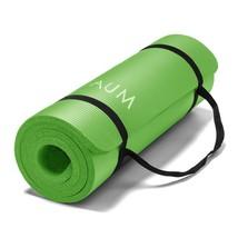 "AUM High Density HD Foam Tech Yoga Exercise Mat, 72"" x 24"" x 1/2"", Kiwi ... - $29.60"
