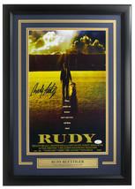 Rudy Ruettiger Signed Framed 11x17 Rudy Movie Poster Photo JSA ITP - $148.49