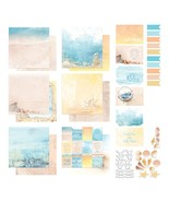 """Couture Creations Seaside Girl 12""""X12"""" Collection-Stickers, Postcards & ... - $15.99"""
