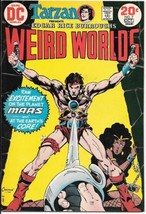 Edgar Rice Burroughs Weird Worlds Comic Book #7 DC Comics 1973 VERY FINE- - $7.84